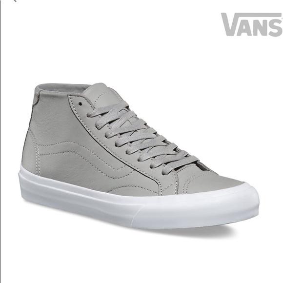 Vans Shoes - Vans leather court mid DX bedbfeea9
